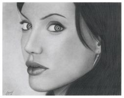 Angelina Jolie by marker21