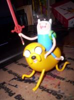 Adventure Time Finn and Jake Ornament  2013 by MindOfPain