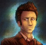 The Doctor Portrait 2 by howlingvoice