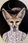Miss Fennec by PaigeyLeighPaintings