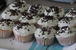 Choc Chip Cupcakes by mintymintymid