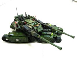 "Lego Apocalypse Tank ""Mix"" 8 by SOS101"