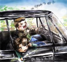 Highway to Hell SPN by ReitaWolf