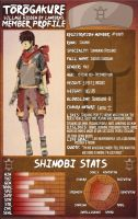 Shishito Shirogane Official Profile by UncouthxTribulation