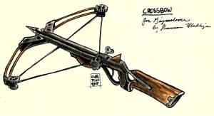 Steampunkish Crossbow by Sketch-Zap
