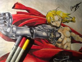 Edward Elric by psyoul