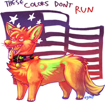 THESE COLORS DON'T RUN. by Duckstapler