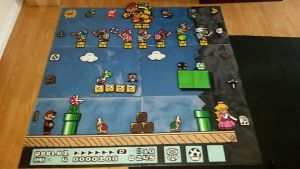 Mario Board Completed 2 by ParkerPixy84