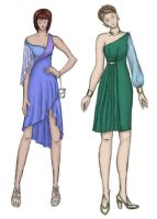 Dresses 3: Asymmetry by taylor-of-the-phunk