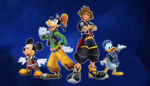 Kingdom Hearts Background by CosmicThunder