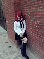 Redhead Schoolgirl by Nao-Dignity