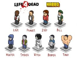 Left 4 Dead Habbo by sk84life222
