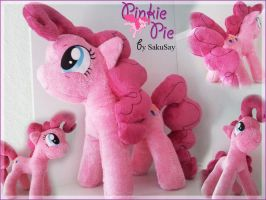 My little Pony FiM - Pinkie Pie plushie by SakuSay