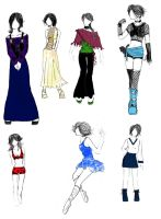 Fashion Designs 3 by Cyber-Ella