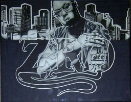 Z-Ro Marker Drawing by J10Designs