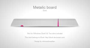 Metallic Board by iDock by emey87