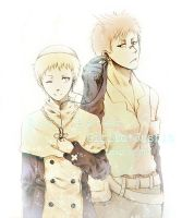 Soul Eater : Giriko and Justin by H2O-kun