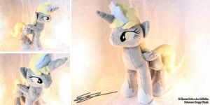 Alicorn Princess Derpy MLP Plushie by LiChiba