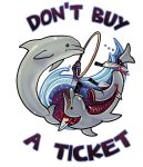 Don't Buy A Ticket by derangedhyena