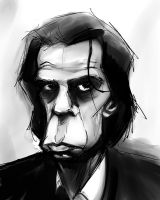 Nick Cave warped version by GregoryRoth