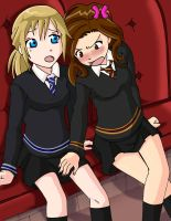 Cross your legs or they'll see by Glee-chan