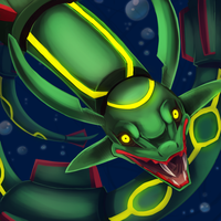 Rayquaza by sabretoothlioness