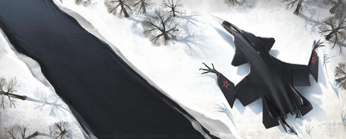 Frozen Eagle by Hydrothrax