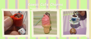 Kawaii Cafe Charms by ReasonBeautifulChild