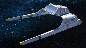 Warpsled Shuttle Starfleet Var by archangel72367