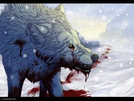 Kiba Wolfs Rain (With Speedpaint) by Katanical