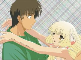 Hideki and Chii - Chobits by tuisted11