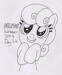 MLPDS-InkTober #24 by Uber--Dragon