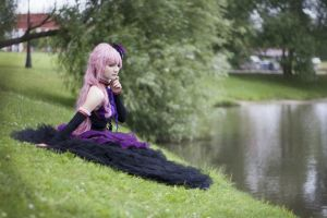 Megurine Luka Dragon by ReveryRe