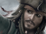 Captain Jack Sparrow (Drawing) by p-shdw