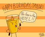 taylor's birthday thingy by Hurricane-Lightning