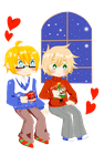APH: Hot Chocolate (gif warning) by imitationflower