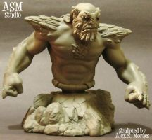 Doomsday Mini Bust Pic1 by ASM-studio