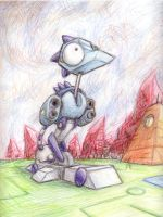 Wierdbot Tall by shadowspark