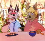 sushi time! by dog-san