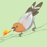 Fletchling by InvisibleCatfish