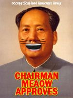 Chairman Meaow by twistedfunk