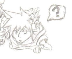 Curious Neku by hylian-dragoness