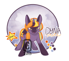 MLP OC AUCTION - Dyna Mite [CLOSED] by StyxLady