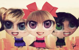 Realistic Powerpuff Girls by neamtz