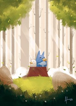 The Symphony of Forests by XnBook