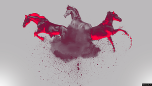 Horse Power Wallpaper by Z-Designs