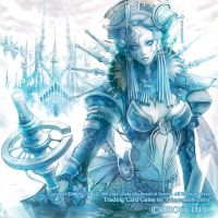 """Dimension-zero""""Queen of ice"""" by HiroUsuda"""
