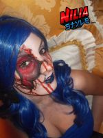Carnival Gore Makeup by NiliaStyle