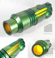 Metroid - Samus Aran arm cannon by Old-Trenchy