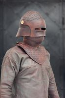 helmet and gorget by vofffka